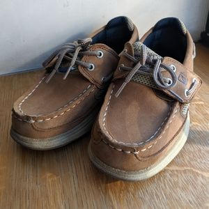 Sperry topsider lanyard boat shoes/ little kid 11